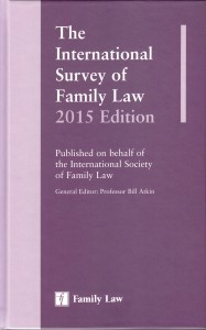 The International Survey of Family Law 2015 Edition